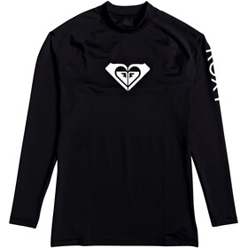 Roxy Whole Hearted Long Sleeve Rashguard Women anthracite